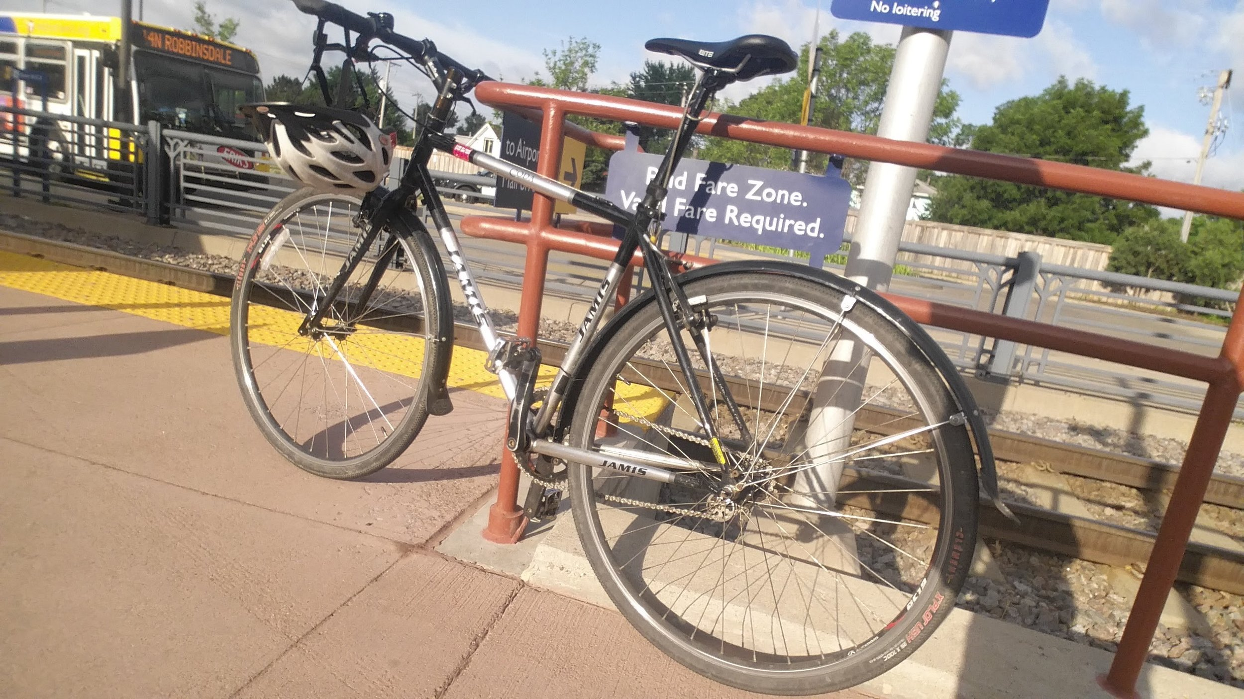 Jamis Coda - around town & crummy weather commuter