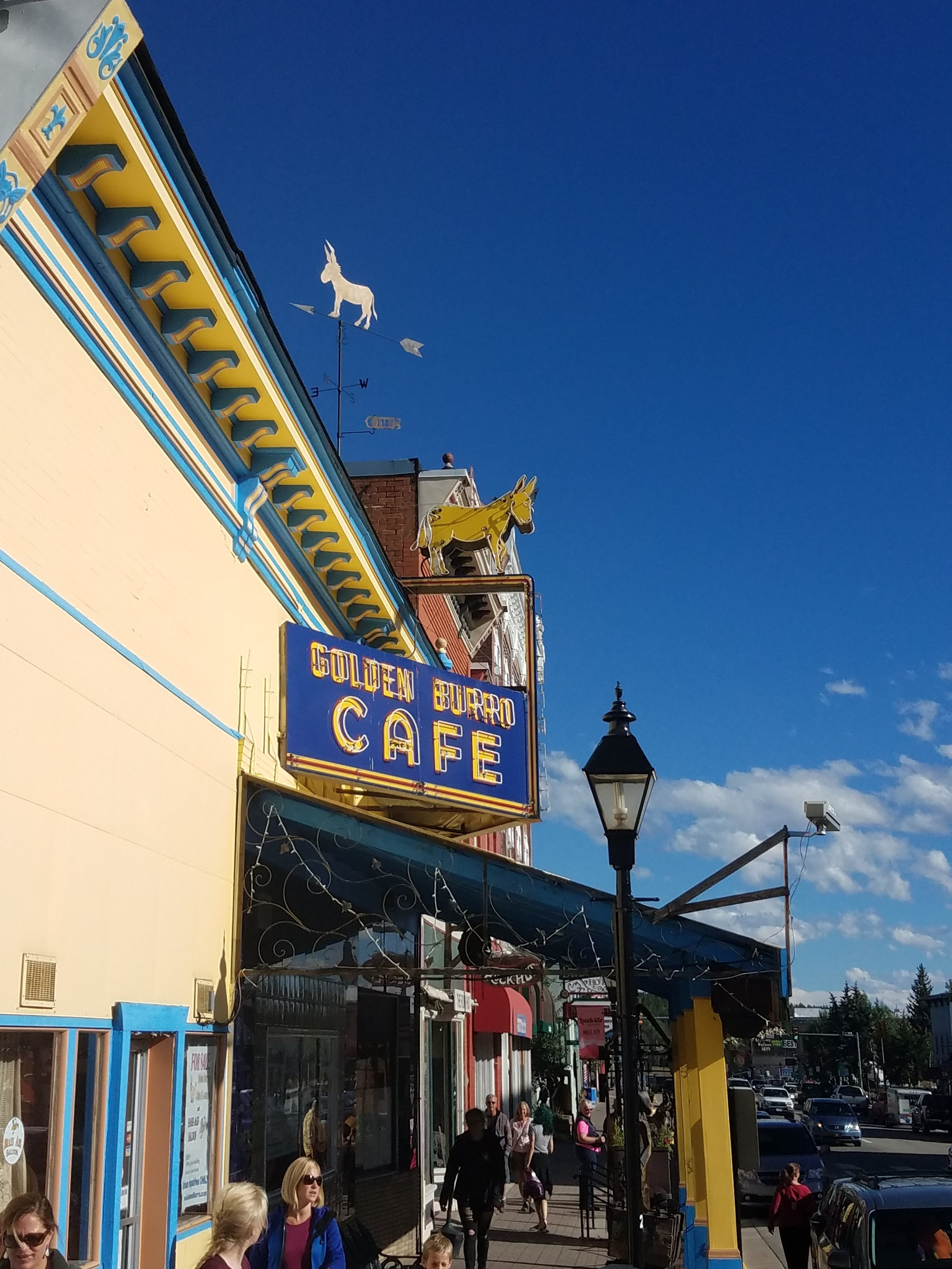 The Golden Burro - one of many fine dining options in Leadville.