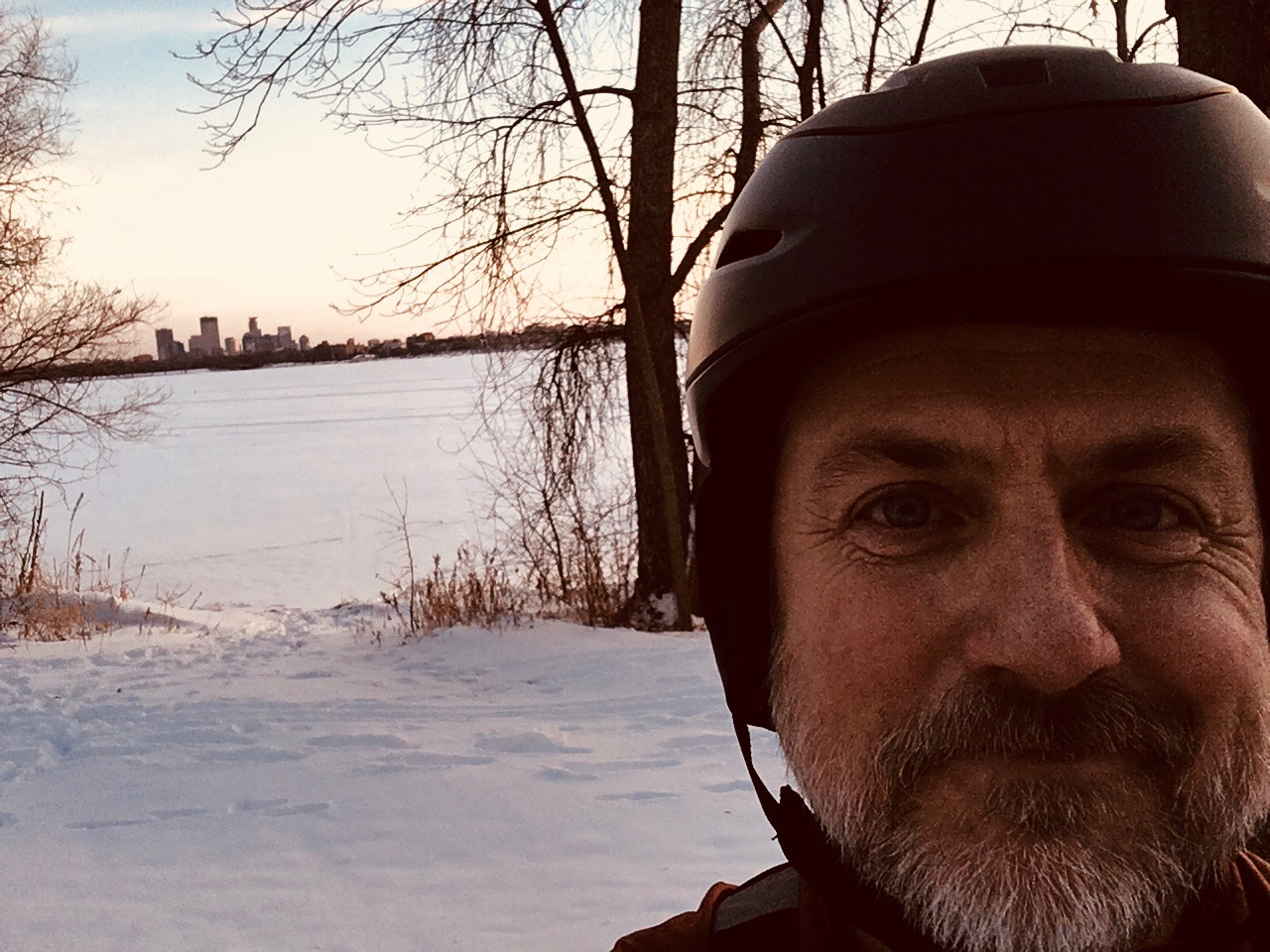 For my last morning commute I took a ride around the lakes. Hard to beat.