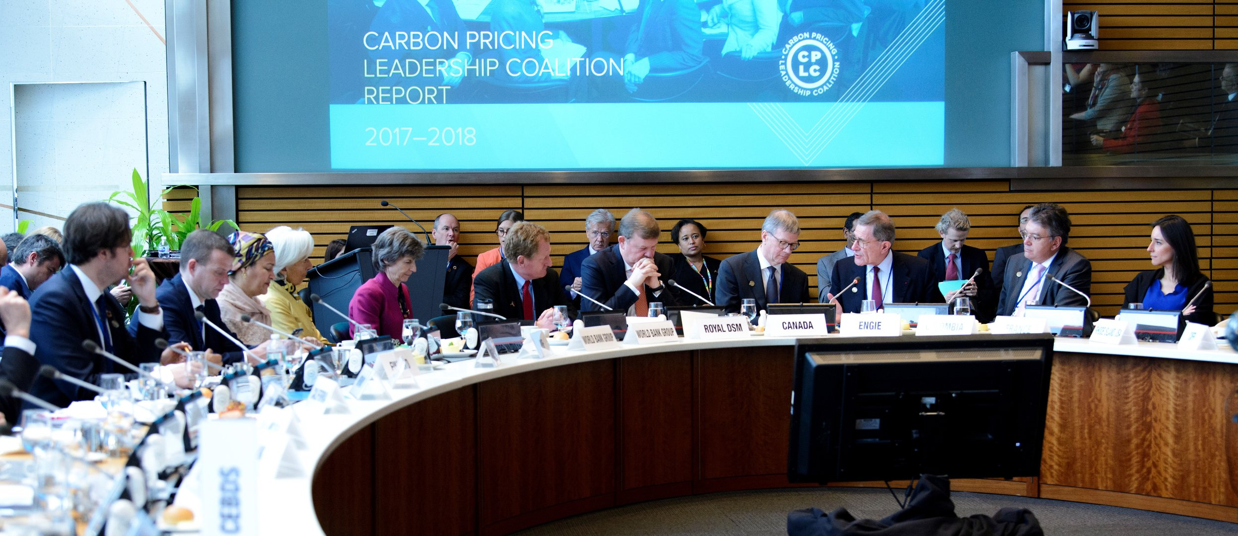 Leaders from government, private sector, and civil society organizations gather for CPLC's 3rd High-Level Assembly on April 19, 2018 to take stock of global carbon pricing developments over the past year and chart a way forward.