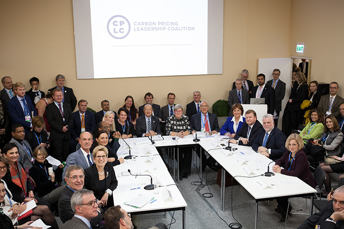 The Carbon Pricing Leadership Coalition (CPLC) officially launched on November 30, 2015, the opening day of COP21 in Paris, France