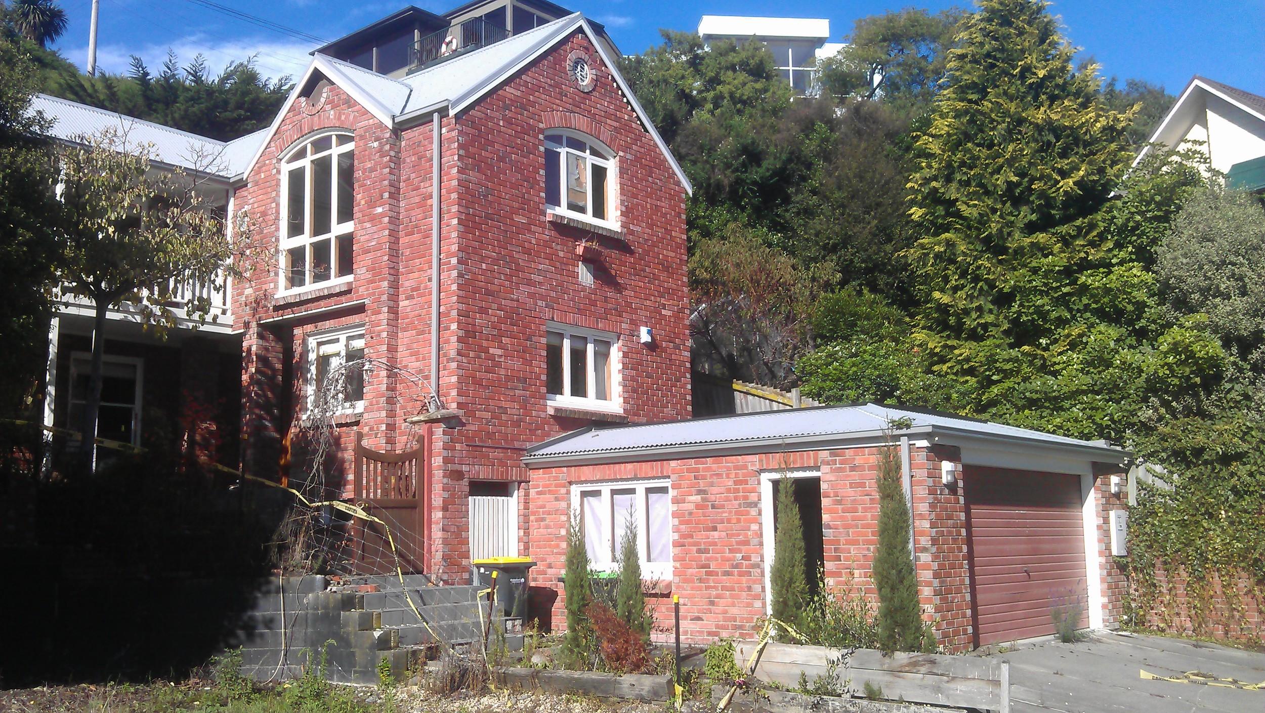 Soper house before