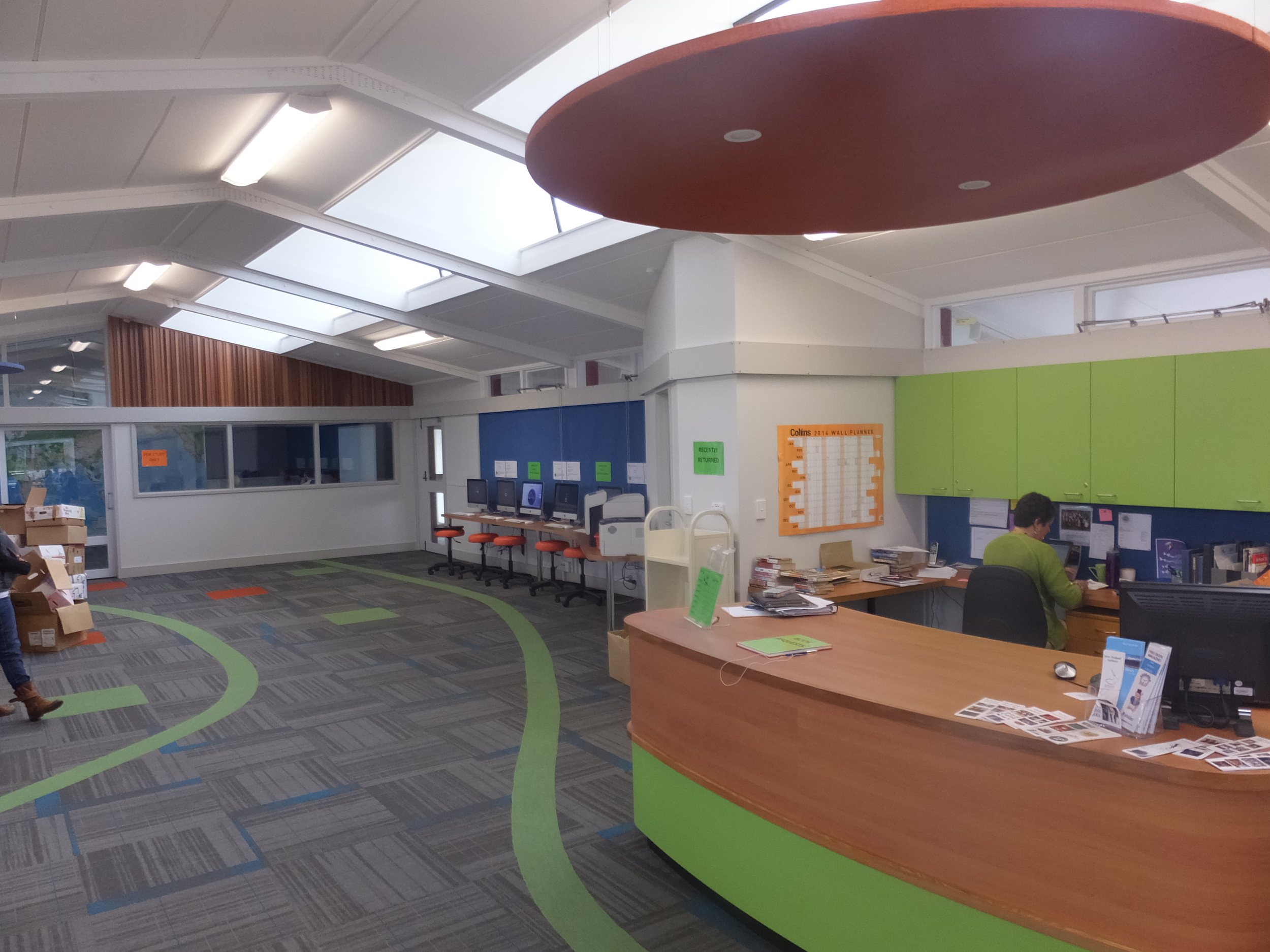 Ellesmere College library
