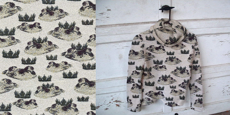 Prince Charming No. 2 . 2012. Double cloth jacquard weave.