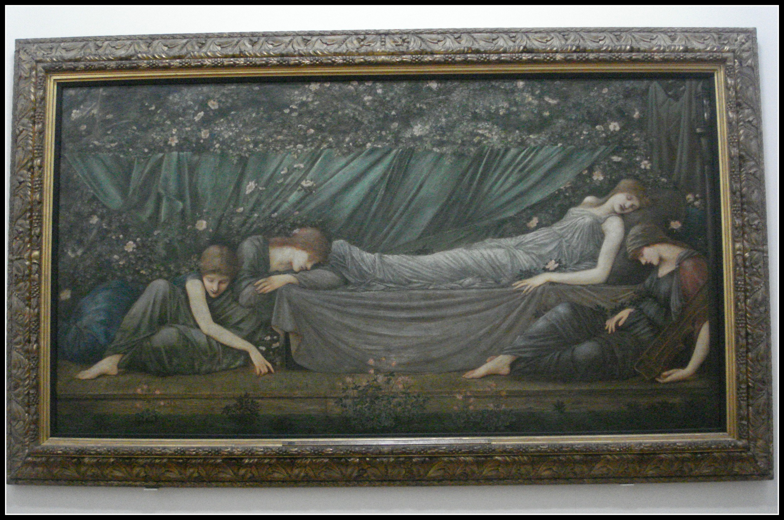 """The Sleeping Princess"" - part of the Briar Rose series by Burne-Jones."