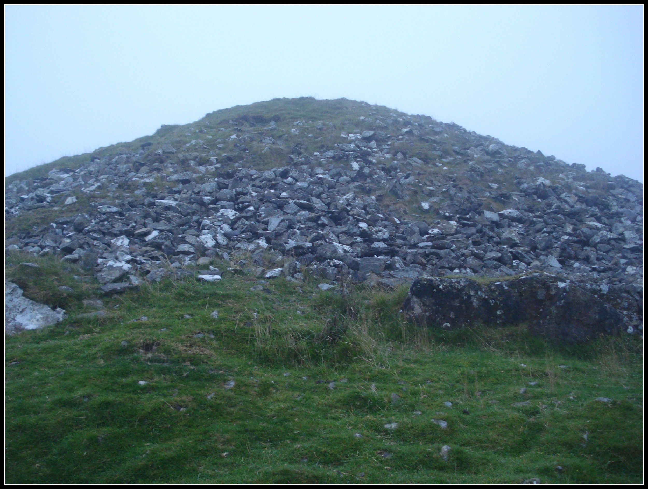 """The Cairns are megalithic structures originally built about 4000 bc as burial chambers.""   http://loughcrew.com/cairns/"