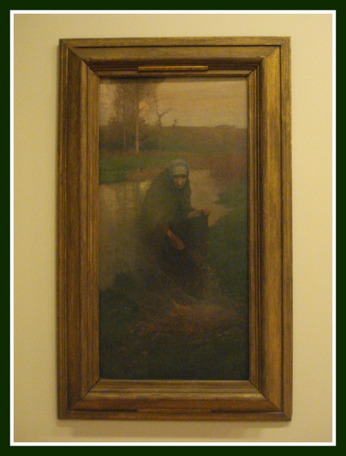 """October 1887"" by Frank O'Meara on display at Hugh Lane Gallery Oct. 2016"