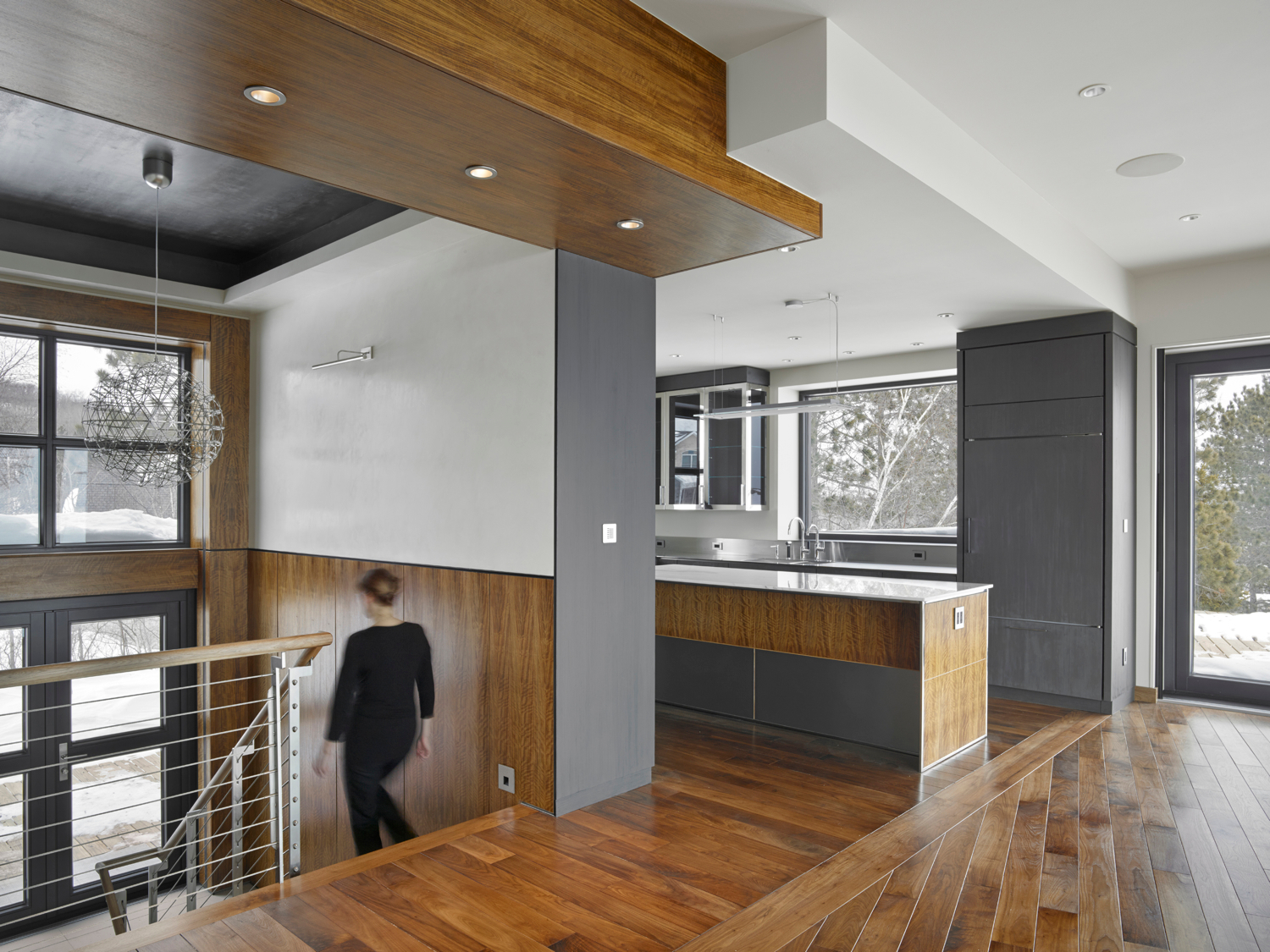 Pays d'en Haut_Carly Coulson Architect_Bruce Damonte Photographer_Kitchen Entry