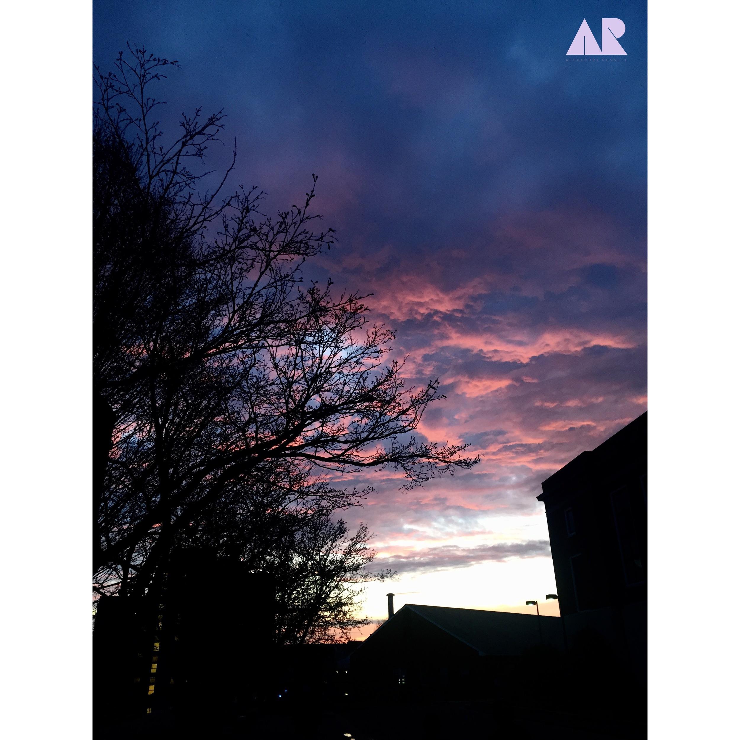 One beautiful sunset...