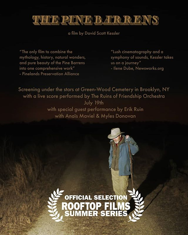 July 19th Brooklyn NY www.rooftopfilms.com for tickets