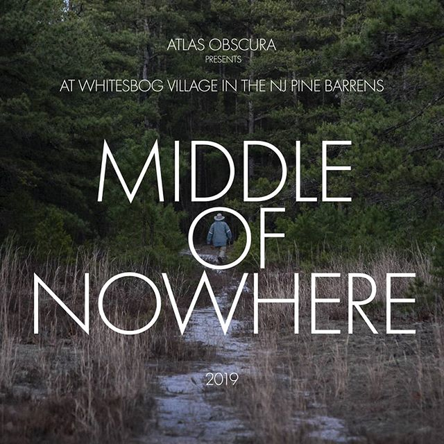 Tickets to Middle of Nowhere 2019 are now on sale through @atlasobscura. See bio for link.  Sept. 28th Whitesbog Village  #middleofnowhere2019  #pinebarrens #pinebarrensfilm #njwoods  #nature #documentary #indiefilm #nancyholt #bluegrass #folk #njpines #newjersey