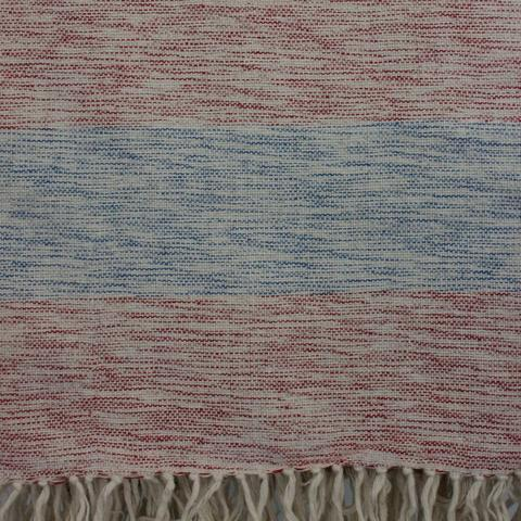 Our Bella blanket in Patriot colors