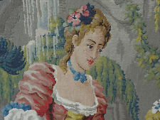 Exquisite handwoven Italian tapestries that you see at all the art museums. Created by hundreds of people but made by hands nonetheless!