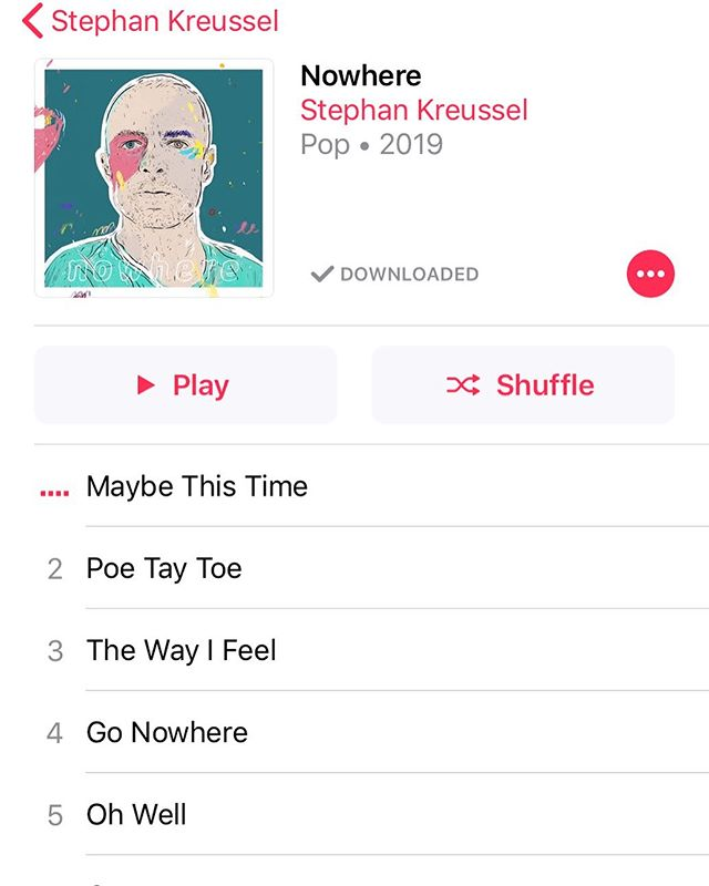 We'll be listening to some fresh new music in the salon today!!! Go check out @kreussel the new album called Nowhere is out on @spotify and @applemusic  Go check him out, and while you're at it listen the the first album too! 💙  #canmorehairsalon #canmorehairstylist #lovemyjob #canmore #goodmusic #stephankreussel #nowhere #newmusic #newmusicalert #newmusicfriday #talentedcousins #dance #happyfriday
