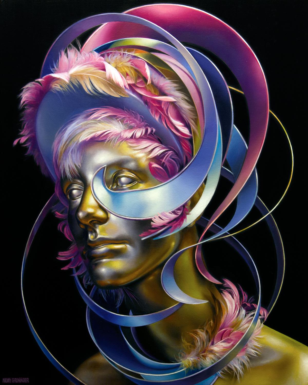 """Starstruck.   Oil on Canvas, 16""""x 20"""""""
