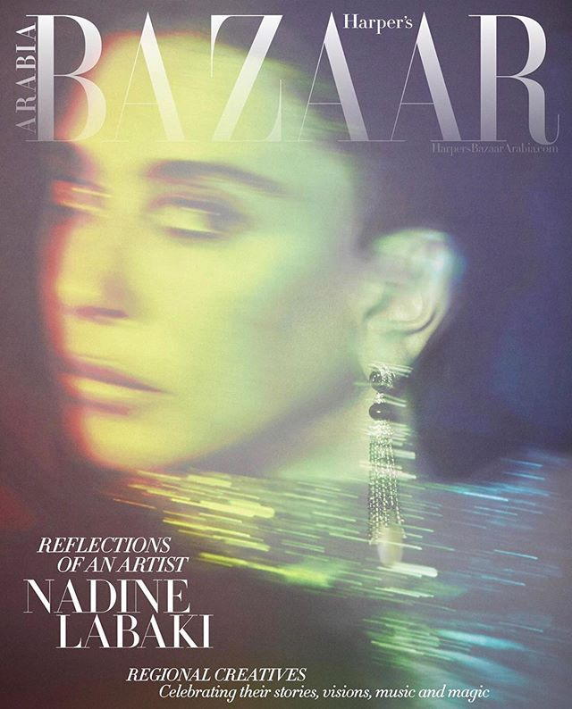 @asmaa_galal for @harpersbazaararabia October Issue. Super excited to have been a part of this powerful issue!!! #StyledbyYK