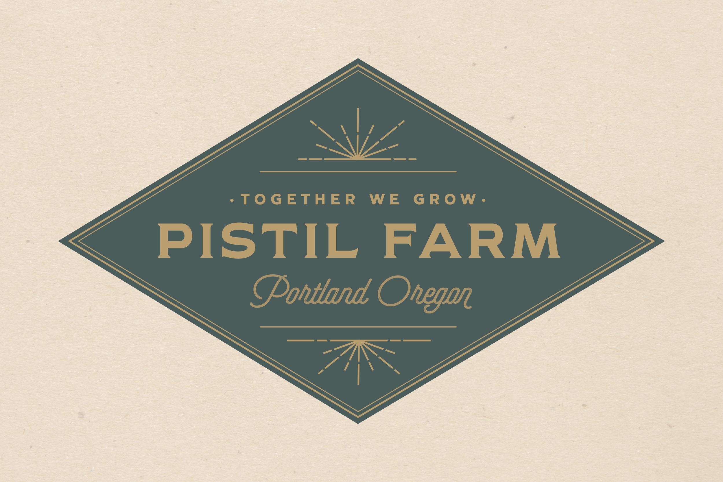 Branding Design For Pistil Farms