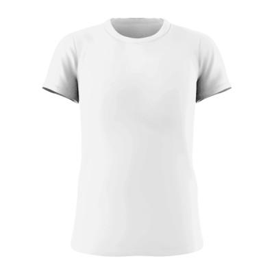 Female T-shirt white
