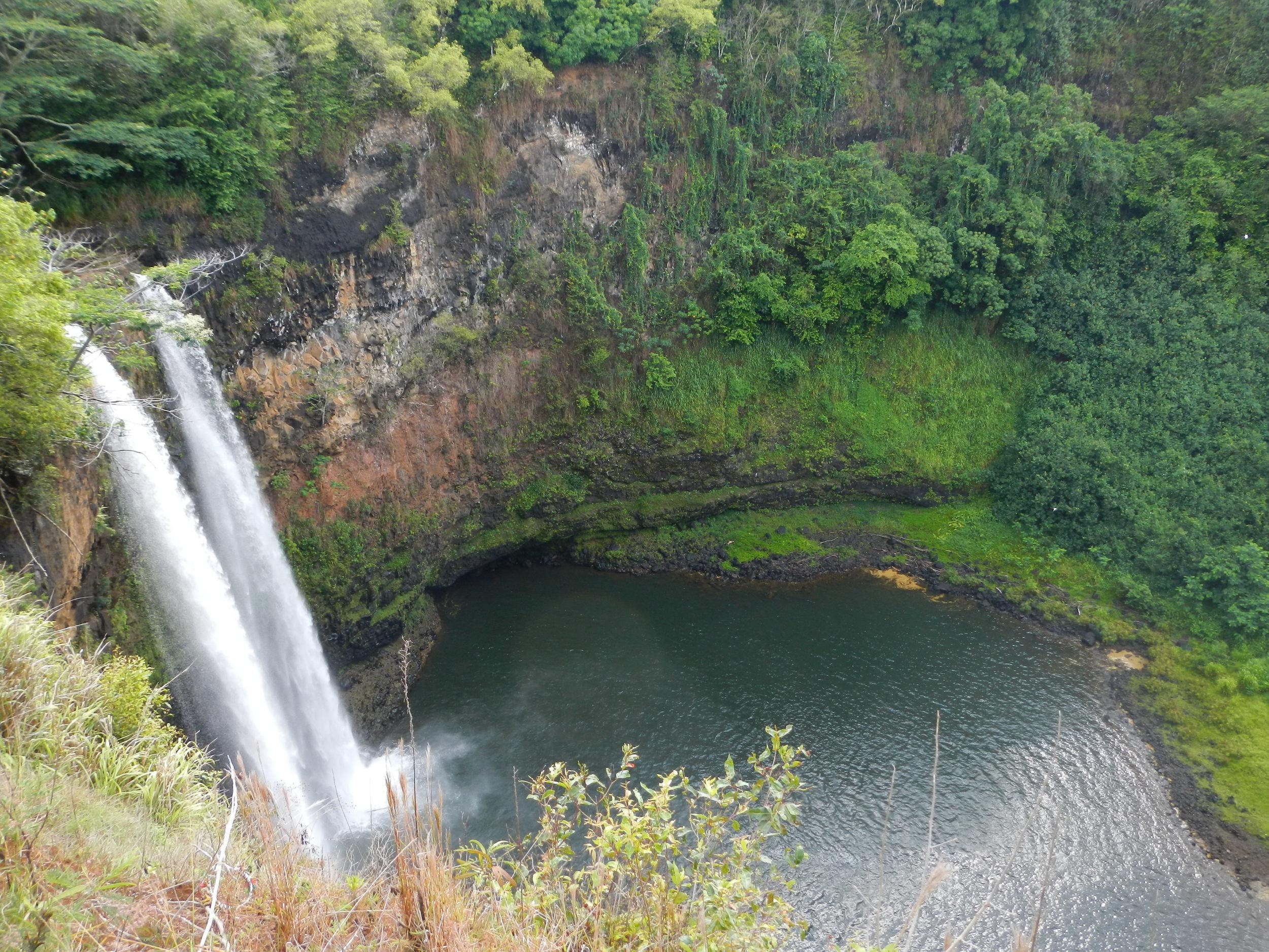 Waterfall, Central Kauai