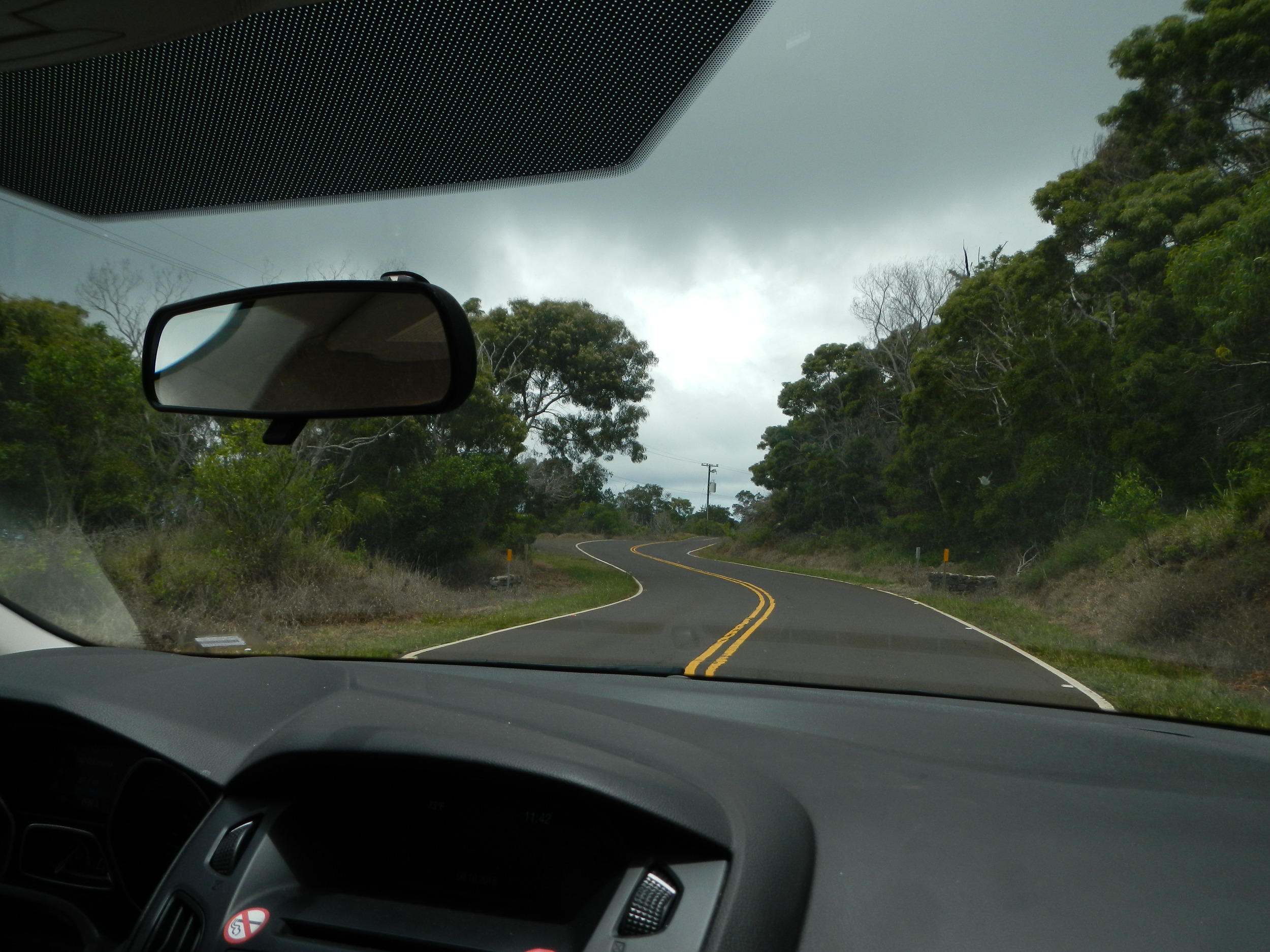 These roads were fun to be driven on.