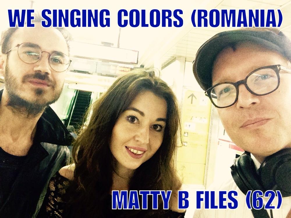 We Singing Colors in Tokyo Subway 2017