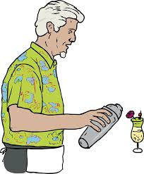 Someone mixing a drink... see what we did there with a bit of word/picture association?   Source:  pixabay.com