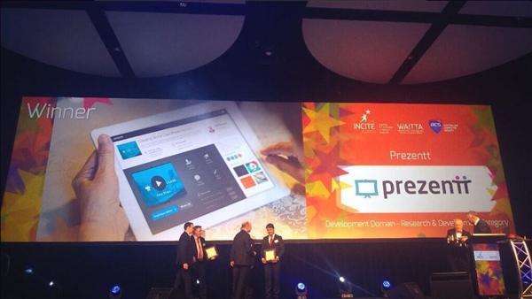 Prezentt - WAITTA INCITE Award Winner - Web App Development
