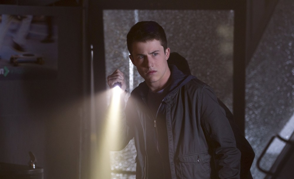 Alex (Dylan Minnette) is the mild-mannered one of three unlucky thieves who picked the wrong house to hit. (Ghost House Pictures / Screen Gems)