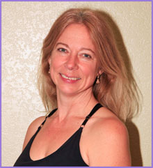 Mary Hoppe    has been practicing yoga since 1982. It is the foundation for all aspects in her life. She has studied many types of yoga including Vinyasa Flow, Bikram, Ashtanga, Iyengar and Kundalini. She has a strong background in dance and is a professional dancer. She uses a hands-on approach to help guide her students to reach their full potential. She invites you to come from a relaxed place, finding grace and beauty in your yoga practice. In 2008 she attended a 200-hour Yoga Teacher Training program with Dana Julius and also a Level 1 Certification with Core Power Yoga. Currently, she has continued her training with Stacie and Sara at Odyssey Yoga.