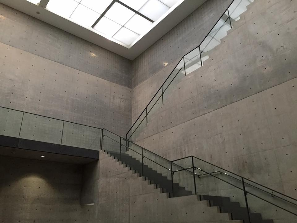 Formalism in the Hyogo Prefectural Art Museum in Kobe designed by Tadao Ando.jpg
