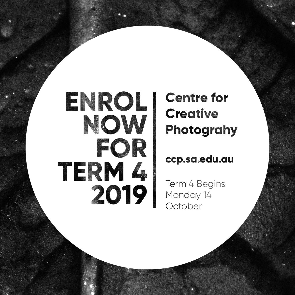 enrol now for term 4 ccp
