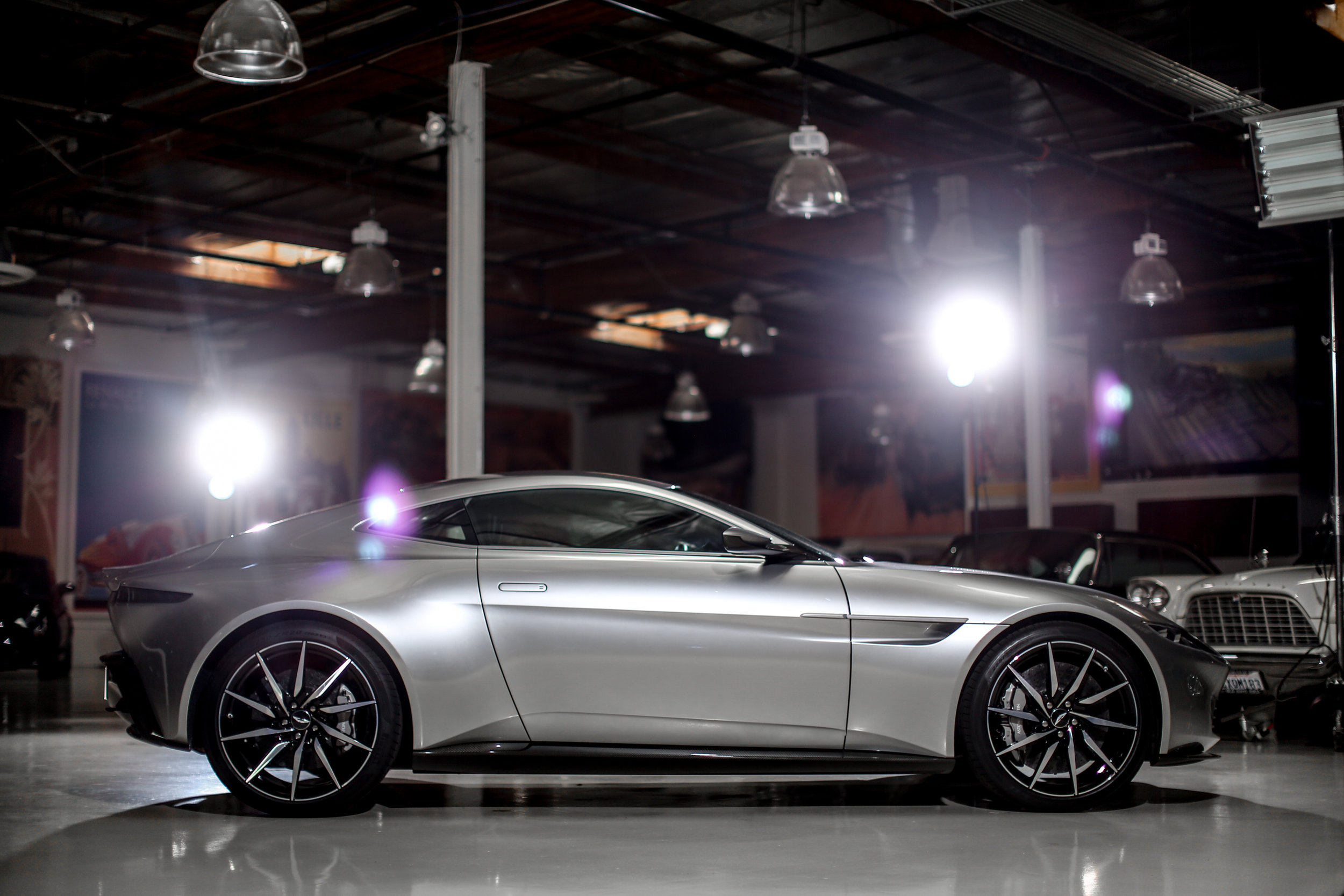 James Bond's 2016 Aston Martin DB10