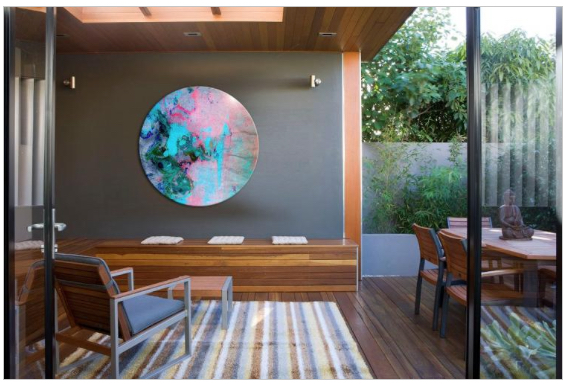 Image:  Jamie Durie x The Canvas Workshop Art Collaboration
