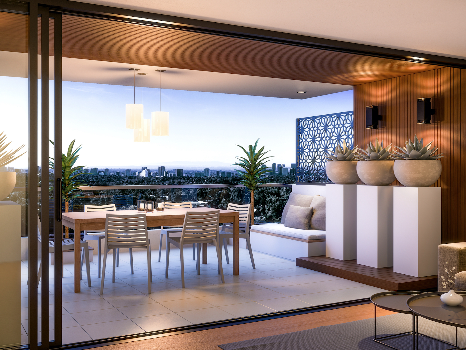 """Balcony concept & design - The Small Garden                       Normal   0           false   false   false     EN-AU   ZH-CN   X-NONE                                                                                                                                                                                                                                                                                                                                                                                                                                                                                                                                                                                                                                                                                                                                                                                                                                                                                    /* Style Definitions */ table.MsoNormalTable {mso-style-name:""""Table Normal""""; mso-tstyle-rowband-size:0; mso-tstyle-colband-size:0; mso-style-noshow:yes; mso-style-priority:99; mso-style-parent:""""""""; mso-padding-alt:0cm 5.4pt 0cm 5.4pt; mso-para-margin:0cm; mso-para-margin-bottom:.0001pt; mso-pagination:widow-orphan; font-size:10.0pt; font-family:Cambria; mso-ansi-language:EN-AU; mso-fareast-language:EN-US;}      This balcony design carries on the neutral tones of the adjoining apartment, but the use of foliage gives it a distinguished feel of its own."""