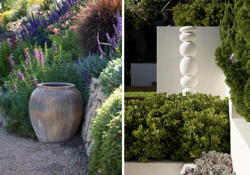 Images via  Outdoor Sanctuaries and  Tempo da Delicadeza