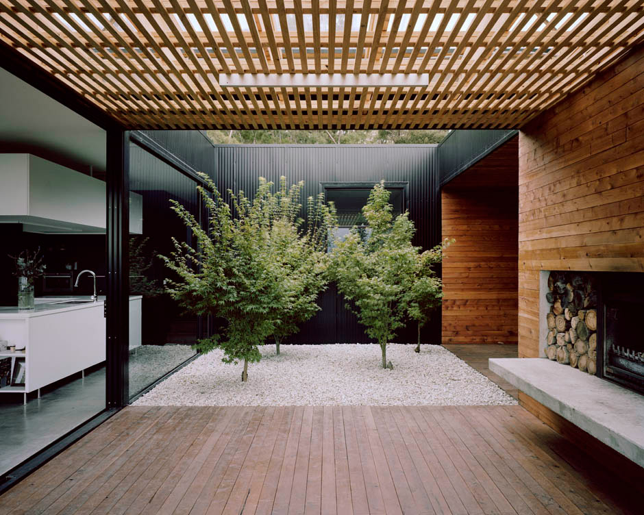 Allens Rivulet House in Tasmania by Room11. Photography by Ben Hosking.