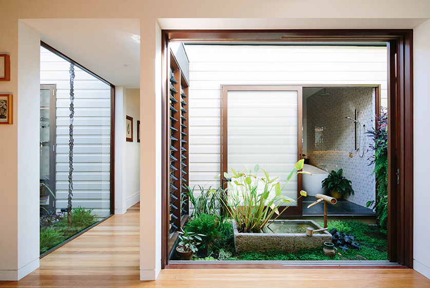 Courtyard House by Davis Architects.