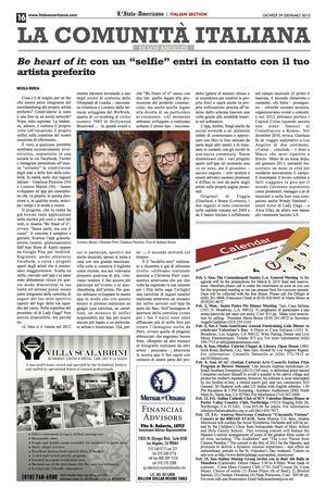 Italoamericano (US). Be heart of it. 01-30-15