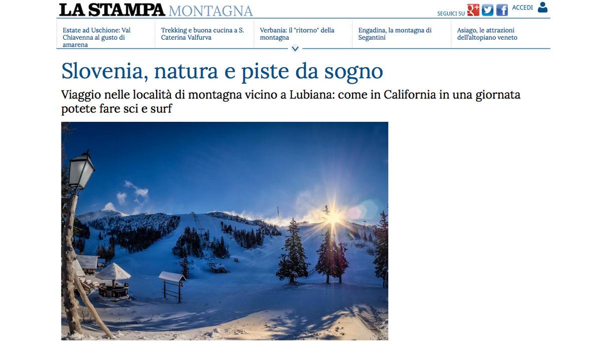 Ski in Slovenia. 16.04.15