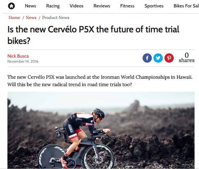 Is the new Cervélo P5X the future of time trial bikes?