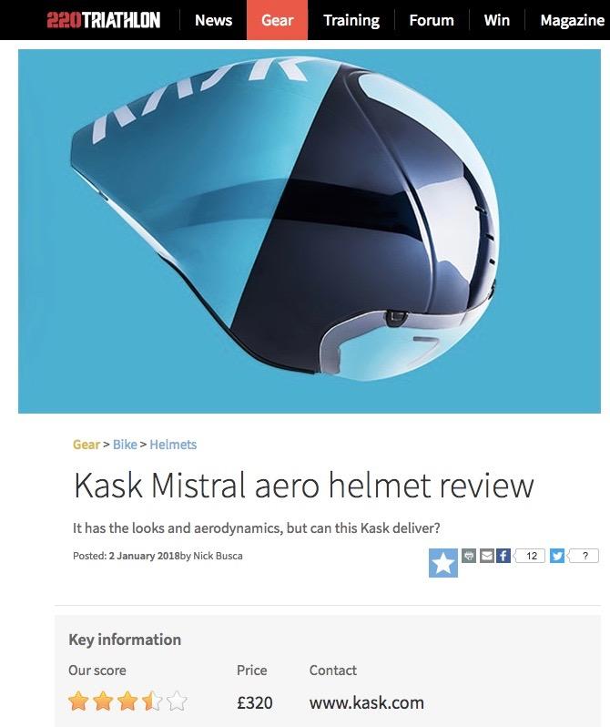 KASK Mistral helmet