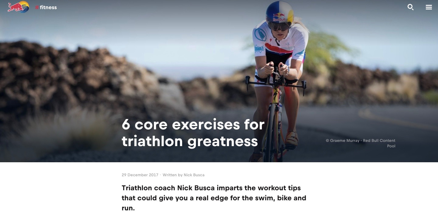 Best core exercises for triathlon