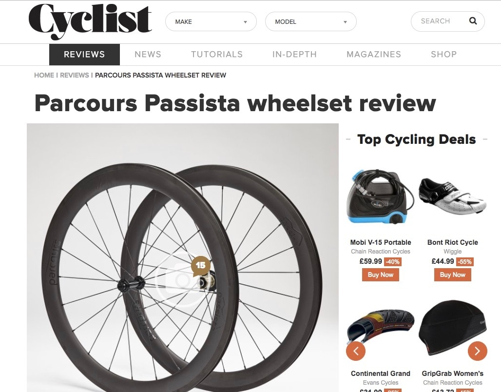 Parcours Passista test and review