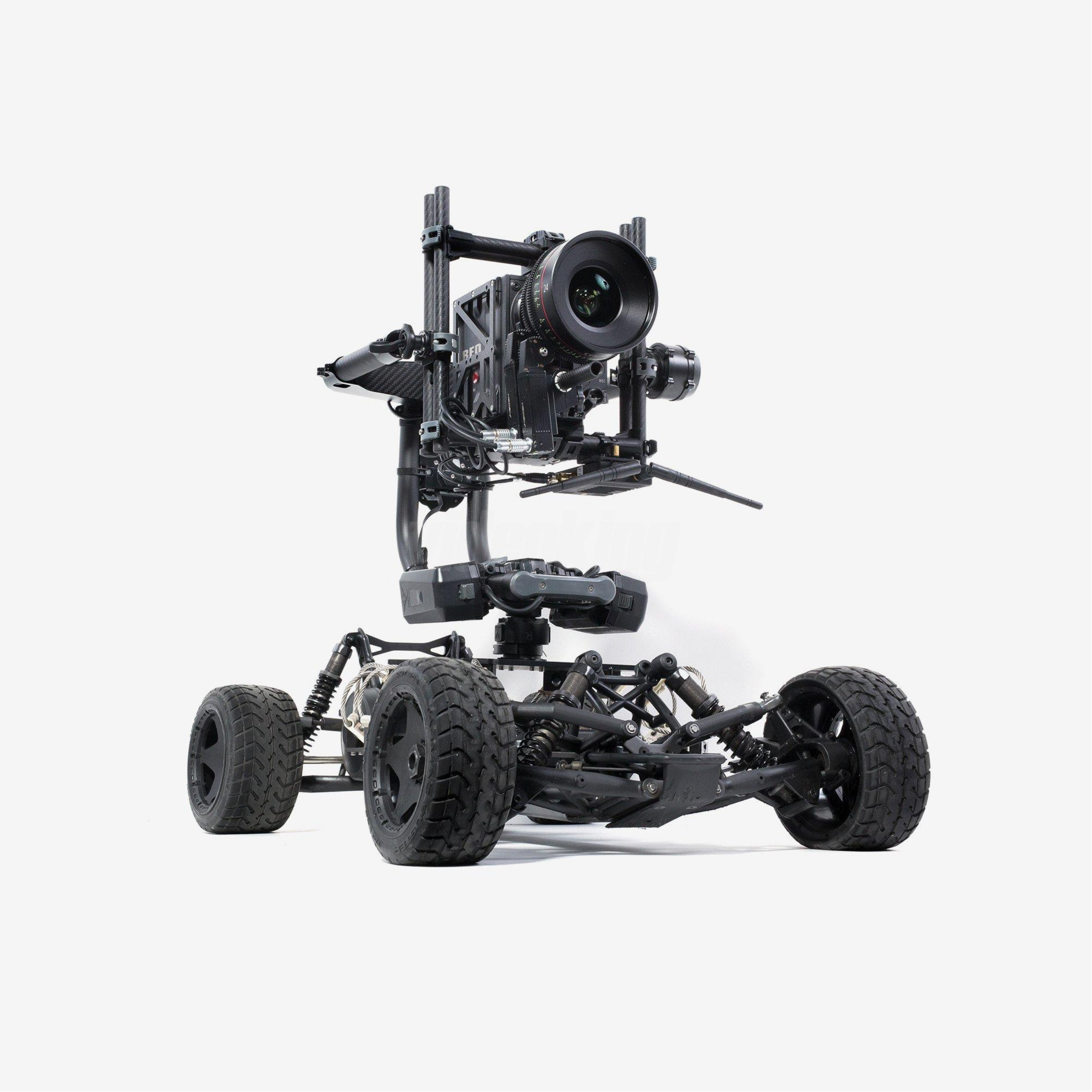 Freefly Tero RC with Red Weapon Camera and Freefly Movi Pro Gimbal