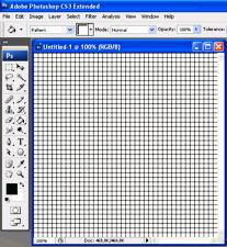 Raster erstellen mit Adobe Photoshop