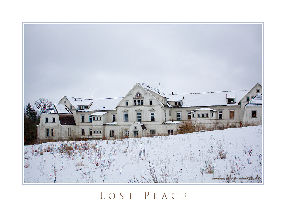 Lost Place - Albrechtshaus