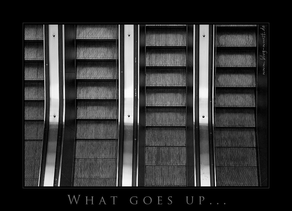 What goes up...