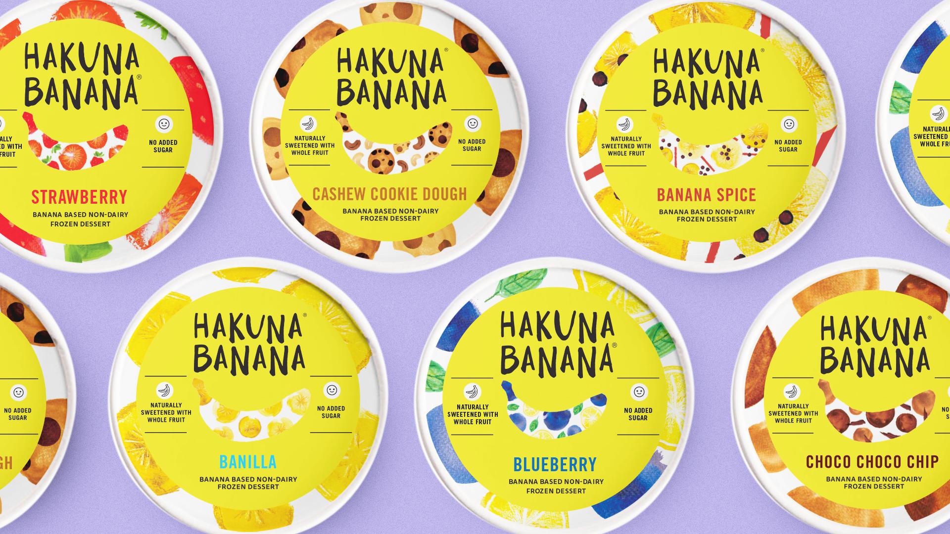 CLIENT: HAKUNA BANANA   The sunny makeover for a guilt-free & delightful dessert.