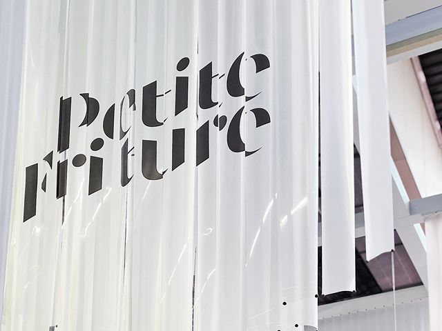 Thrilled to see @petitefriture 's logo we designed at @maisonetobjet 🖤 More to come ✌🏼 _ _ _ #designer #design #branding #logo #furniture #maisonetobjet2019 #paris #brand #graphicdesign