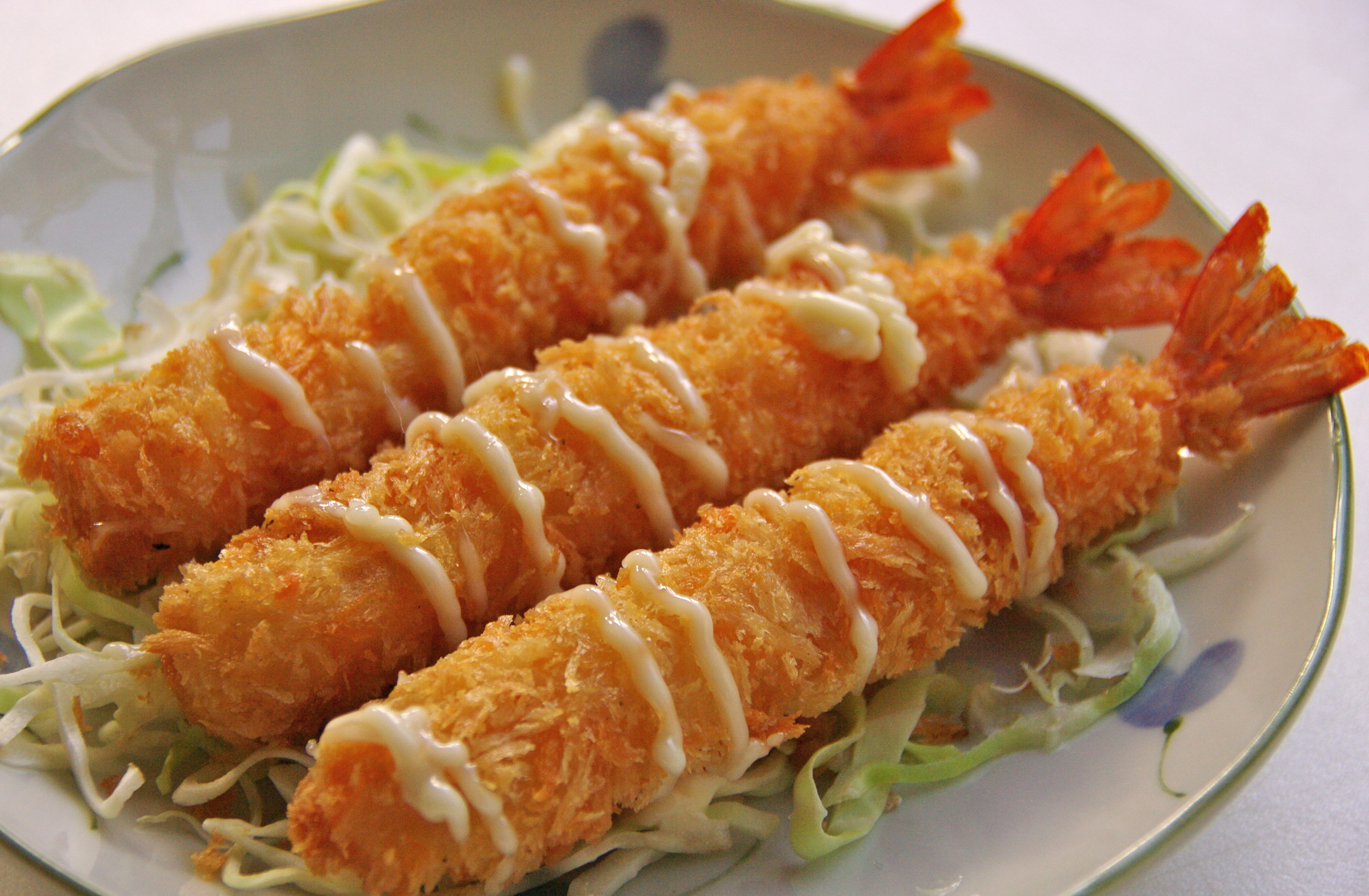 Crsipy Prawns - who can resist?